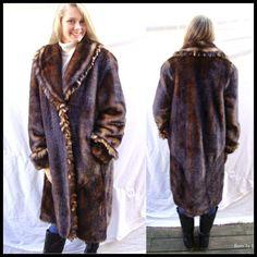 be9eb9cc4 43 Best VINTAGE FAUX FUR COATS images | Vegan, Fur coats, Fur collar ...