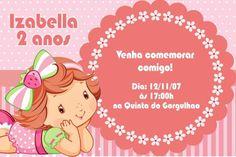 Convite digital personalizado Baby Moranguinho 004