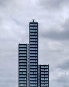 Flats on Albert Embankment - second visit for