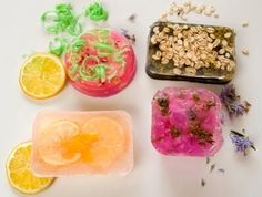 Melt and Pour Soap making - soap bars