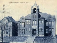 Former South Side School, later became Garfield Elementary school. Today is the site of South Elementary.