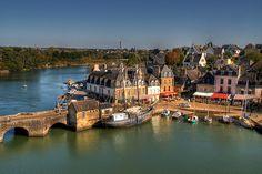 Pays d'Auray - Aux alentours de Sauzon : Vannes, Auray et la Presqu'ile de Rhuys Morbihan en Bretagne Sud - Hôtel du Phare, à Sauzon, Belle ...