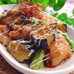 夏野菜&豚バラ肉deポーク南蛮♡