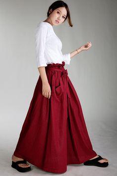 KL024S Skyfull/Womens Clothing Womens Skirt by KelansArtCouture