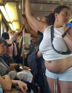 On her way to Wal-Mart