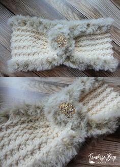 Crochet fur headband free pattern - Handarbeit - New Craft Crochet Ear Warmer Pattern, Crochet Headband Pattern, Crochet Hooks, Free Crochet, Crochet Top, Easy Crochet Headbands, Easy Crochet Stitches, Crochet Sheep, Captain Hook