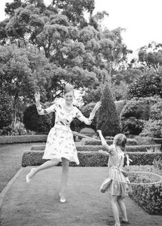 Image by Nick Scott for Madison Australia via Dustjacket Attic, Via Design Darling. Christian Dior, Nostalgia, Living In London, Mother And Child, White Dress, Stylists, Tumblr, Summer Dresses, My Style
