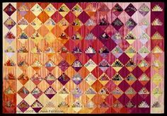 Once in a while we come across a quilt artist whose use of color in design is simply masterful. Today we are honored to feature - and interv...