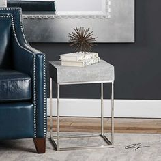 The Accent  End Tables Jude Concrete Accent Table ** Check out the image by visiting the link. (This is an affiliate link) #FurnitureSofaTables