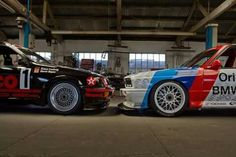 Ford Sierra Cosworth RS500 DTM v.s. Bmw M3 E30 Sport Evolution DTM #IloveM3E30