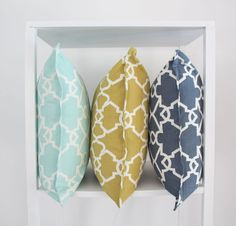 Elle Kay Fabrics Trellis Cushion Cover available in three colours, Spearmint; Mustard and Denim Thing 1, Fabric Labels, Scatter Cushions, Cushion Covers, Trellis, Your Space, Fabrics, Colours, Mustard