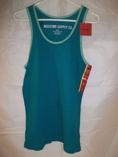Mossimo Supply Co. Athletic Fit Women's Tank Top Shirt Aqua Blue Size Small #MossimoSupplyCo #Tanktop #summer #fitness #athletic #womens #shirt #clothing #clothes #apparel #fashion #onlinestore #onlineshopping #ebay #ebaystore