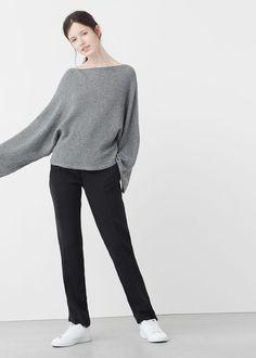 Oversize sweater | MANGO