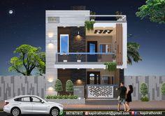 House Balcony Design, House Outer Design, Duplex House Design, House Front Design, Small House Design, Modern House Design, Facade Design, Exterior Design, Architecture Design