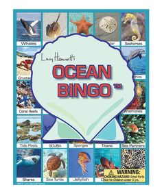 Look what I found on #zulily! Ocean Bingo Game by Lucy Hammett Games #zulilyfinds