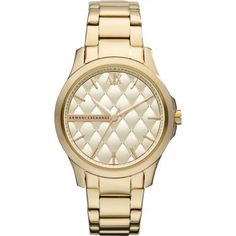 Armani Watch- need a nice gold watch!! Didn't like, very small face. Took back.