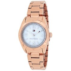 Shop for Tommy Hilfiger Women's 1781553 Hadley Round Rose Gold-tone Stainless Steel Bracelet Watch. Get free delivery On EVERYTHING* Overstock - Your Online Watches Store! Stainless Steel Watch, Stainless Steel Bracelet, Tommy Watches, Best Watch Brands, Online Watch Store, Tommy Hilfiger Women, Watch Sale, Gold Watch, Bracelet Watch