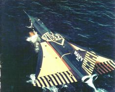 Convair F2Y Sea Dart (1953) was a unique American seaplane fighter aircraft that rode on twin hydro-skis for takeoff. It flew only as a prototype, and never entered production. It is the only seaplane so far to have exceeded the speed of sound (in shallow dive).