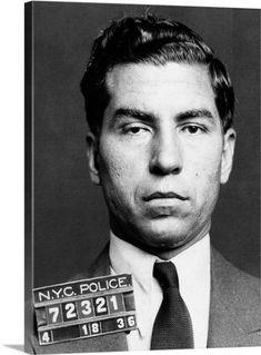 The Italian Mafia -The American Mafia or simply The Mafia in the US is an Italian American criminal world. -Much like the Sicilian Mafia, . Real Gangster, Mafia Gangster, Gangster Movies, Al Capone, Poster Pictures, The Godfather, Mug Shots, American History, New York City
