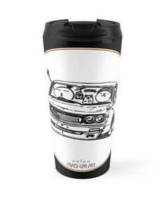 Crazy Car Art 0006 / travel mug