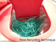 Extreme frugality. Learn my frugal grandmother's technique for recycling dental floss. Save $$$
