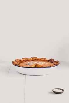 Salty Honey Rosewater Crust Pie