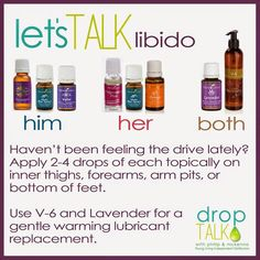Young Living Essential Oils: Libido solution
