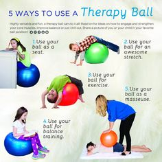 1000 images about therapy ball fun on pinterest