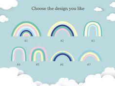 Wooden rainbow - Design #14