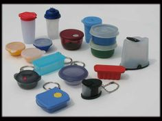 Image detail for -Tupperware Key Chains