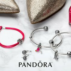 Glamour meets Feminine Beauty! Pops of pink and sparkling Pandora jewelry complements your vibrant personality. Explore the latest arrivals and receive a FREE Tote bag valued at $45 with your $125 purchase. Visit store for details. #PandoraWestland #Pandorajewelry #new @PandoraWestland