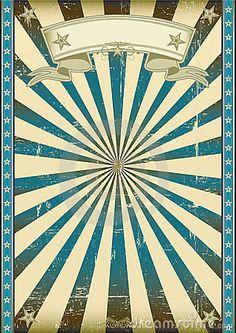 Textured blue retro background