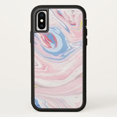Marble Art iPhone X Case Custom Brandable Electronics Gifts for your buniness #electronics #logo #brand