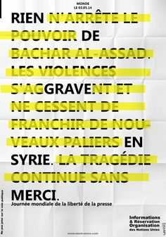 design by Tadef - Journée internationale de la liberté de la presse