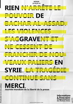 design by Tadef - Journée internationale de la liberté de la presse