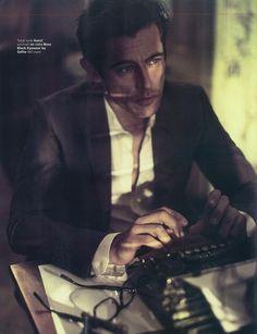 Werner Schreyer Wears Neutral Shades for GQ Italias July 2012 Issue