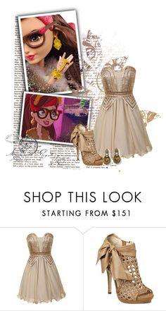 """Rosabella Beauty"" by bluetidegirl ❤ liked on Polyvore featuring Dorothy Perkins and Nine West"