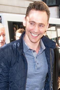 Tom Hiddleston at BBC Radio to promote his new film I Saw The Light on May 6…