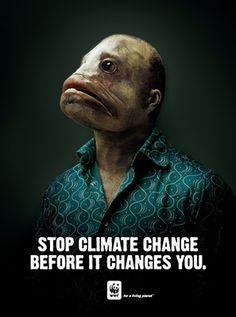 Stop Climate Change Before it Changes You | WWF Campaign. #WWFcampaign #wwf #expo2015 #stopclimatechange #climatechange