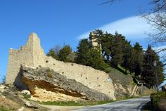 La rocca, XIII° sec. #marcafermana #smerillo #fermo #marche