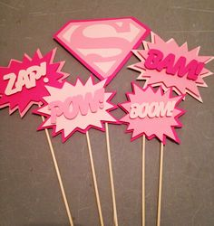 Hey, I found this really awesome Etsy listing at https://www.etsy.com/listing/230732069/supergirl-centerpiece-5pc-superhero