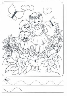 Jaro Paper Embroidery, Pre Writing, Play To Learn, Colouring Pages, Fine Motor Skills, Worksheets, Diy And Crafts, Kindergarten, Preschool