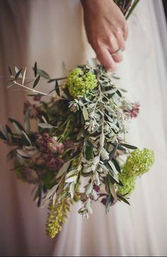 Helena Mareque ramo de novia