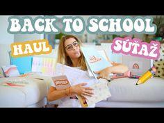 Back To School nákup + SÚŤAŽ | Patra Bene - YouTube Back To School, Youtube, Entering School, Back To College, Youtubers, Youtube Movies