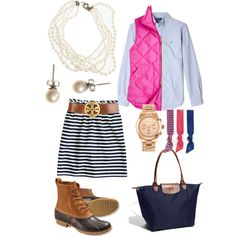 A fashion look from November 2013 featuring J.Crew vests, J.Crew mini skirts and Emi-Jay. Browse and shop related looks.