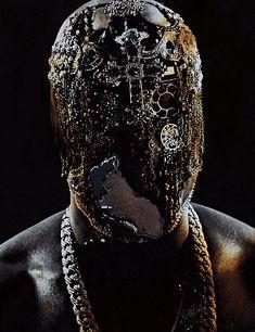 Maison Martin Margiela mask. Kanye West.