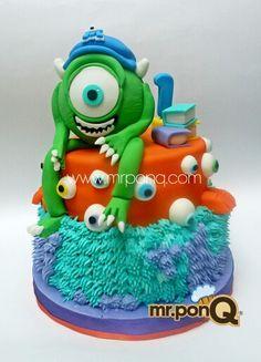 Mr.ponQ torta Monster Inc