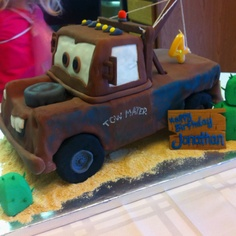 Mater birthday cake - my sisters-in-law did an amazing job!