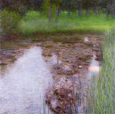 The Swamp, Gustav Klimt - ashamed to say I've never seen this before (blush)…