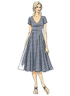 Sewing patterns for fashion clothing, crafts and home decorating. Dress sewing patterns, evening and prom sewing patterns, bridal sewing patterns, plus costume and cosplay sewing patterns. Vogue Sewing Patterns, Vintage Sewing Patterns, Clothing Patterns, Dress Patterns, Pdf Patterns, Sewing Dresses For Women, Tent Dress, Miss Dress, Winter Fashion Outfits